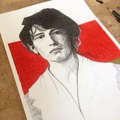 """Graphik H / H1987 on Instagram: """"Portrait de Camille Claudel - Crayon gris et crayon de couleur - 210 mm x 297 mm  ________________  Suivez-moi sur :  Blog -…"""" Camille Claudel, Follow Me On Instagram, Portrait, Blog, Gray, Color Pencil Picture, Headshot Photography, Portrait Paintings, Blogging"""