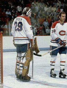 Ken Dryden and Guy Lafleur   Montreal Canadiens   NHL   Hockey