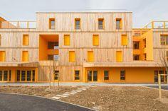 Seniorenheim bei Paris fertig / Gerahmte Blicke - Architektur und Architekten - News / Meldungen / Nachrichten - BauNetz.de