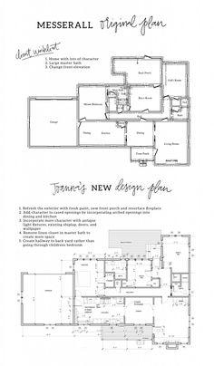 fixer upper season 3 floor plans room layouts