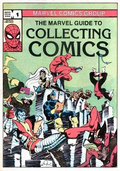 The Marvel Guide To Collecting Comics by Walt Simonson, 1982