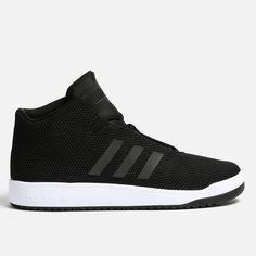 adidas Originals - Veritas Mid Minimalist Design, Adidas Originals, High Tops, Men's Shoes, Adidas Sneakers, Black, Fashion, Moda, Man Shoes