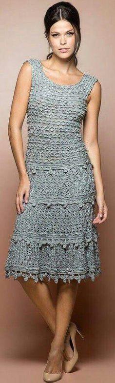 Vestido,crochet.
