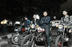 cafe racer at lombok 45 st