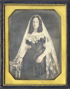 Portrait of a Bride, 1840s – costume cocktail