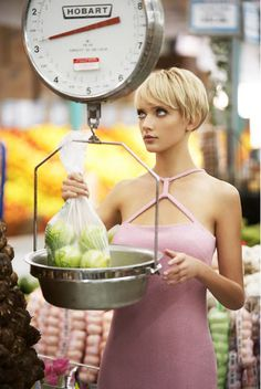 Look like you have the perfect weight to your produce, look at the scale....