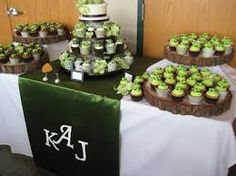 Image result for wedding cupcakes display