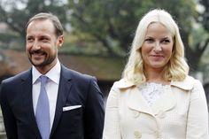 Kroonprins Haakon en Mette-Marit