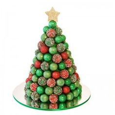 On Our Christmas Special Edition: Homemade Gifts, Christmas Crafts, Christmas Tree Cupcakes and more. Fruit Christmas Tree, Christmas Cake Pops, Christmas Sweets, Christmas Cooking, Noel Christmas, Christmas Goodies, Christmas Candy, Christmas Crafts, Chocolate Tree