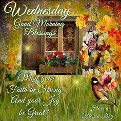 Wednesday Good Morning Blessings