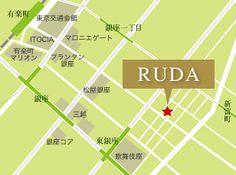 RUDAアクセスマップ