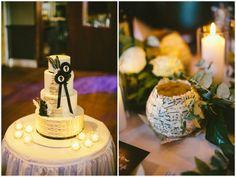 Music inspired wedding cake
