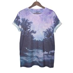Lilac Forest Tee