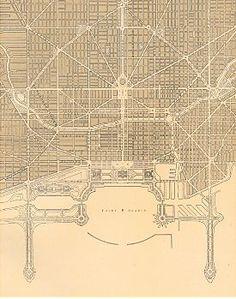 Daniel Burnham, The Plan of Chicago, 1909