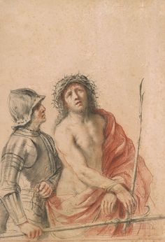 Giovanni Francesco Barbieri, called Il Guercino | Christ and Soldier | The Morgan Library & Museum