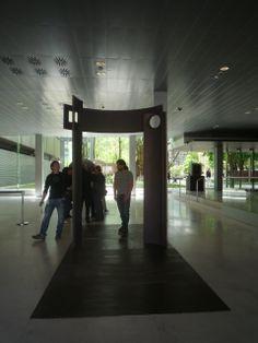 Puerta del Parque de la memoria. Sartaguda