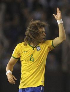 David Luiz Brasil x Argentina (Foto: EFE)