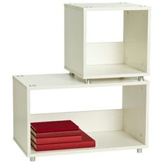 The Container Store > White Vario Stacking Shelves