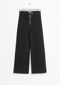 & Other Stories | Cotton Trousers in Black