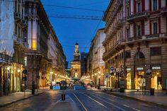 Con Franco Brandazzi ammiriamo via Dante #milanodavedere Milano da Vedere