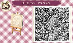 A wide choice of qr codes for Animal Crossing New Leaf and Happy Home Designer Qr Code Animal Crossing, Animal Crossing Qr Codes Clothes, Acnl Qr Code Sol, Acnl Paths, Motif Tropical, Motif Acnl, Code Wallpaper, Ac New Leaf, Brick Path