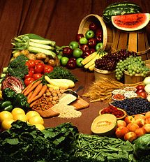 Food is any substance that can be consumed, usually composed primarily of carbohydrates, fats, minerals, water and/or proteins, that can be eaten or drunk and metabolized by almost all multicellular entities for nutrition or pleasure. Items considered food may be sourced from plants, animals or other categories such as fungus. Ranching, farming, fishing, hunting, foraging and other methods are ways to obtain food.