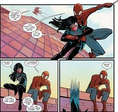 spiderman and silk relationship - Google Search