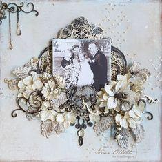 Welcome and a very happy New Year to you. Tina with you today to share my project for January. This layout was inspired by the Dusty Attic Moodboard for the month. Scrapbooking 101, Mixed Media Scrapbooking, Scrapbook Supplies, Heritage Scrapbooking, Scrapbook Templates, Scrapbook Page Layouts, Scrapbook Albums, Photo Layouts, Paper Bag Scrapbook