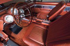 1963 - Chrysler's bronze blowtorch, the experimental Turbine car.