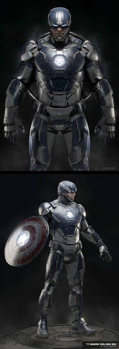 Captain Iron by Abraao Segundo