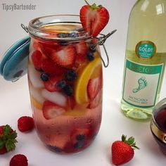 Sangria Pounamatata Cocktail Recipe!