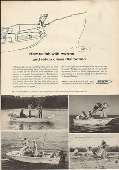 1964 Fisher- Pierce Company Ad- The Boston Whaler Boats