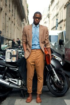Those African men in fashion. So Good.