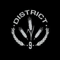 Camiseta The Hunger Games (Los juegos del hambre). Distrito 9