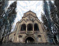 SAINT RIPSIME CHURCH IN YALTA by Badusev on DeviantArt