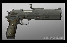 Löwenklaue Antonio 991 M6 Pistol by BlackDonner.deviantart.com on @deviantART