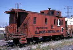 Illinois Central Railroad Photo Archive | CaboosePhoto Archive. Saw a lot of these in my hometown.
