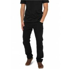 URBAN CLASSICS BLACK 5 POCKET PANTS - Trousers and Jeans - Menswear