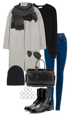 """""""Untitled #409"""" by sofia-608 ❤ liked on Polyvore featuring Pull&Bear, Yves Saint Laurent, Rochas, Alexander Wang, Ann Demeulemeester, Ray-Ban and ASOS"""