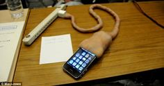 iPhone charger that looks like an umbilical cord