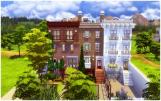 Newcrest Avenue Townhouse by Homeless Sims