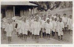 Children at school, #Dominica.