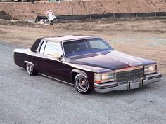 1982 Cadillac Coupe DeVille.
