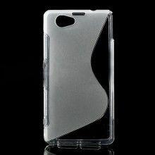 Capa Xperia Z1 Compact - Sline Gel Transparente  R$21,25