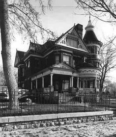 George Ferris Mansion, Rawlins, Wyoming The George Ferris Mansion and carriage house are excellent examples of the popular Victorian architectural style known as Queen Anne. The design of the building came from a well known architectural firm, Barber and Klutz, located in Knoxville, Tennessee.