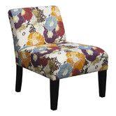 Found it at Wayfair - Armless Floral Graffiti Living Room Slipper Chair