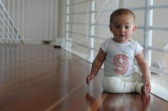 great month onesie series, @Kristi Garcia like these but without the stitching
