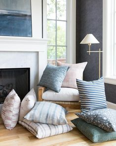 Mistakes Guys Make When Decorating To Impress Women | Laurel Home - wonderful pillows currently on sale at Studio McGee