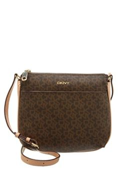 DKNY HERITAGE  - Across body bag - brown/natural £120.00 #BestPrice #fashionclothing #FashionDesigner