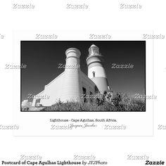 Postcard of Cape Agulhas Lighthouse